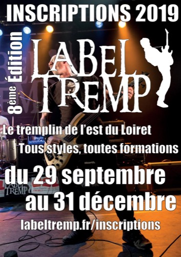 Appel à candidature 2019 pour le tremplin Label Tremp