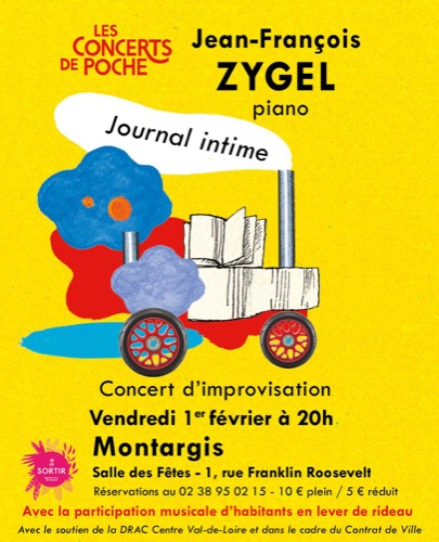"Jean-François Zygel, ""Journal intime"""