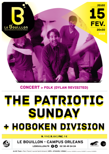 "The Patriotic Sunday, ""Dylan Revisited"" + Hoboken Division"