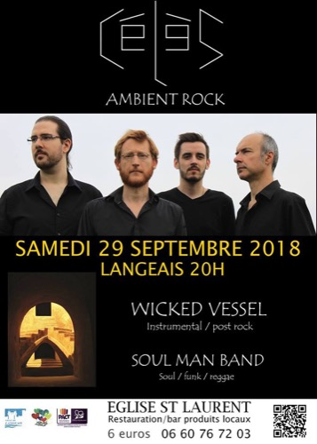 Célès + Wicked Vessel + Soul Man Band