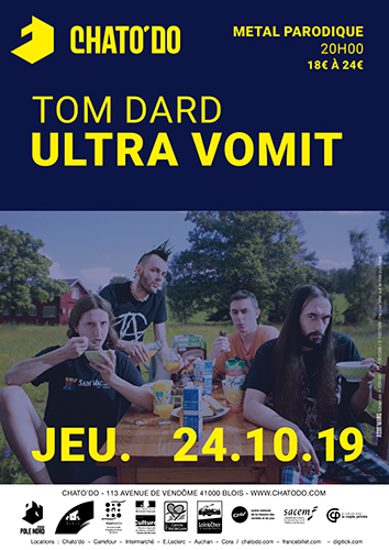 Ultra Vomit + Tom Dard