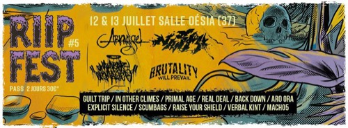 RIIP Fest : Nasty + Chamber Of Malice + Back Down + Real Deal + Scumbags + Macho5