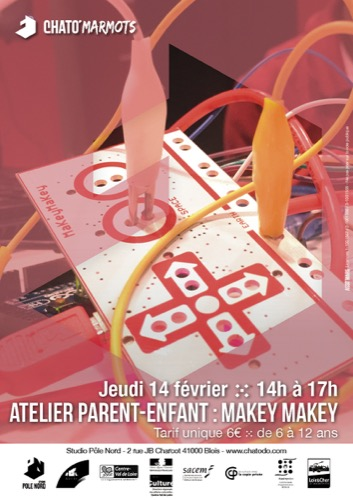 atelier parent-enfant : Makey-Makey