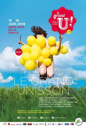 le Grand Unisson : The Patient + The Buxom Blade + Santiago + MNNQNS + Super Parquet + Massy Inc. + Black Bones