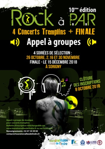Tremplin Rock à P.A.R. : appel aux groupes