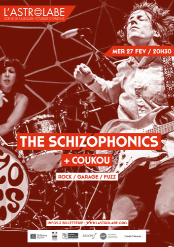 The Schizophonics + Coukou