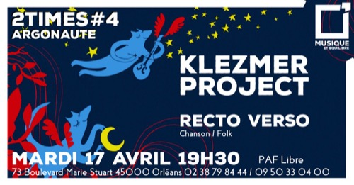 2Times#4 : Klezmer Project + Recto Verso