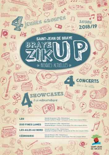 BrayeZik'up : Duo Fines Lames
