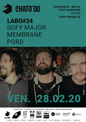 Labo#34 : Sofy Major + Pord + Membrane