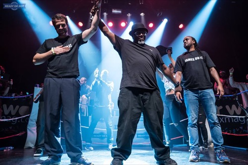 Beat Matazz vainqueur de la battle hip hop Ready Or Not au Bataclan