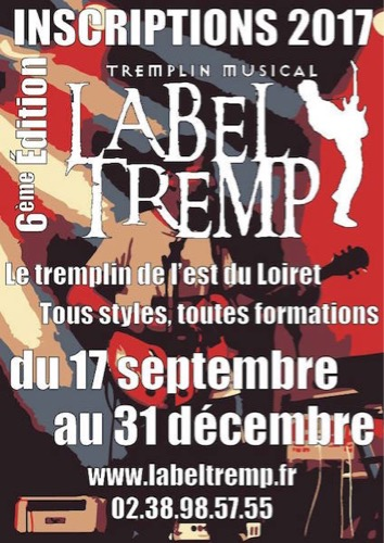 Appel à candidature 2017 pour le tremplin Label Tremp