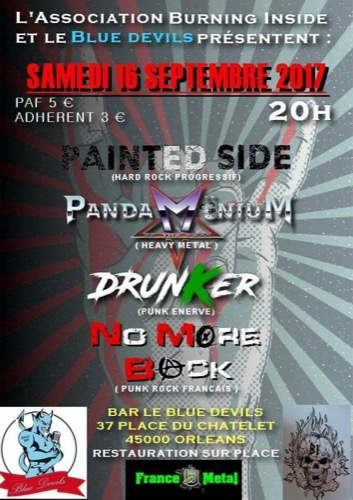 Drunker + Painted Side + PandaMöniuM Of The Dead + No More Back