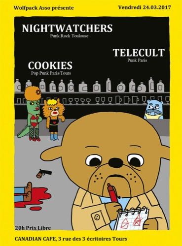 Nightwatchers + Telecult + Cookies
