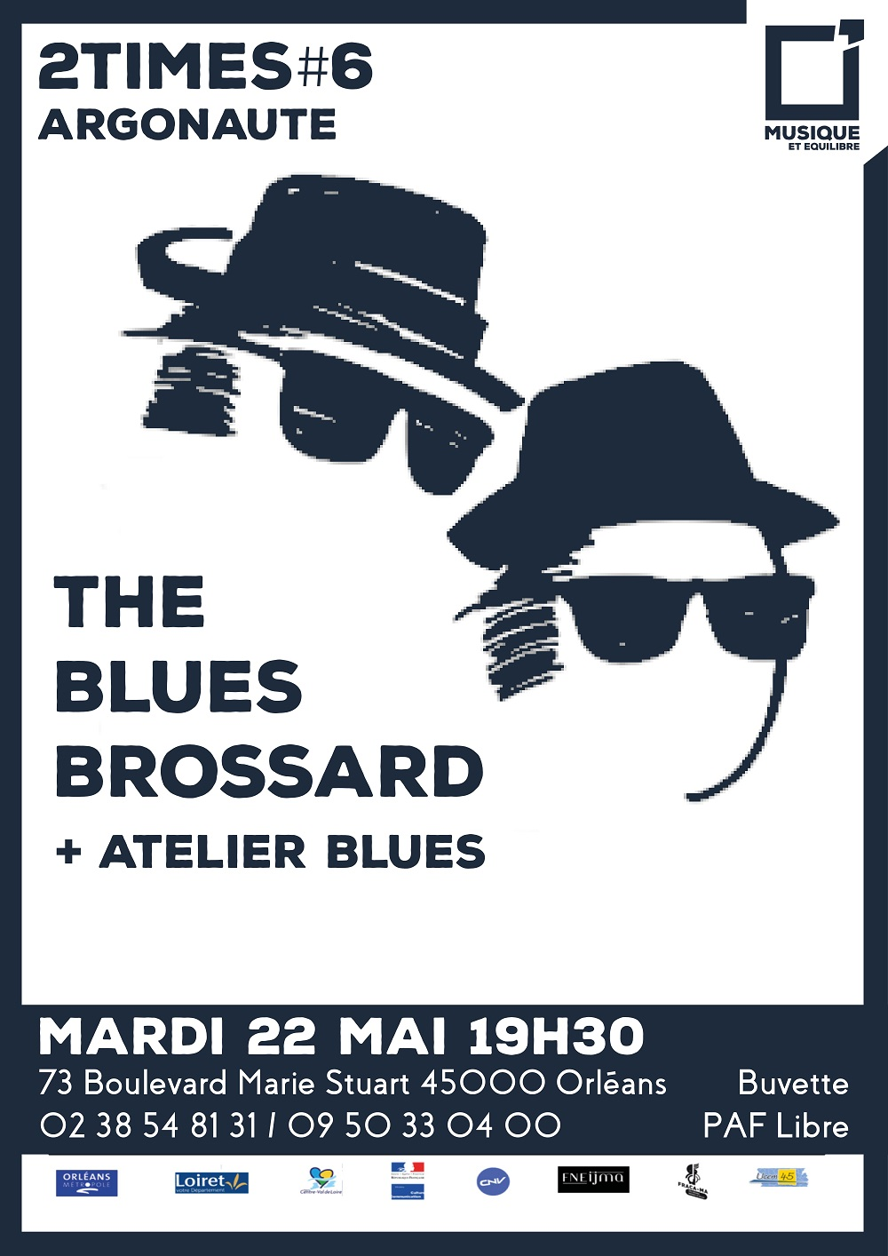 2times#6 The Blues Brossard / Atelier Blues