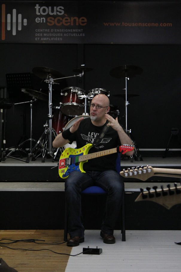 Stage Guitare Rock avec Christophe GODIN