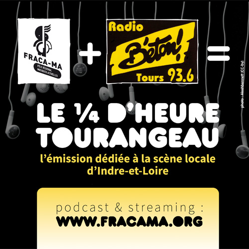 Quart d'heure tourangeau - 29/09/2015 (ITW : Melted Space)