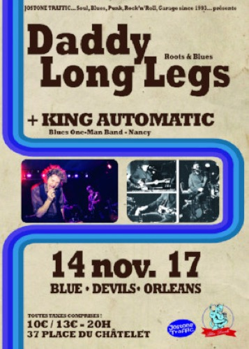 Daddy Long Legs + King Automatic