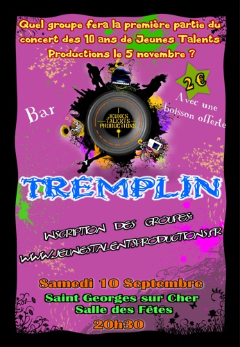Tremplin Jeunes Talents Productions