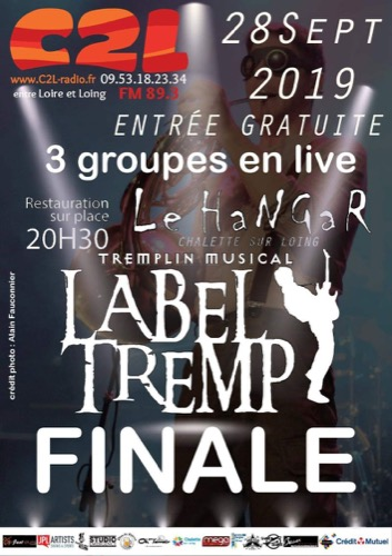 Label Tremp - finale : Sara + Swans On The Groove + Mess