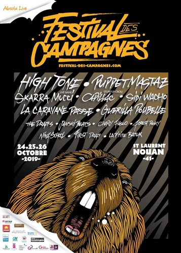 Festival des Campagnes : The Drafts + Janski Beeeats + C4di114c + Puppetmastaz + High Tone