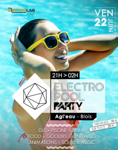 Electro Pool Party : Maeva Carter + Arno Cost + Max Parker + Mr. Liberty